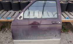 Doors for GMC Sonoma 1992, some rust at the bottom. Passenger side in  fairly good shape. Driver side has dent closer to hinges( track for window need fixing.) $50.00 for the pair. pick up only