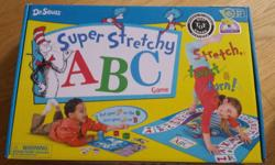 Fun alphabet learning board game. Just like twister. Smoke and pet free home