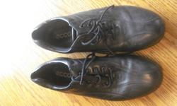 Assorted dress shoes   boys size 2 George, slight scuff, been polished, hardly noticable  $3.00   boys size 5 Transit leather shoes $15   Size 9 leather ecco shoes - excellent, comfortable work shoe   $15