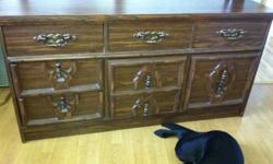 Super sturdy dresser. $30 OBO must pick up too! it's pretty big This ad was posted with the Kijiji Classifieds app.