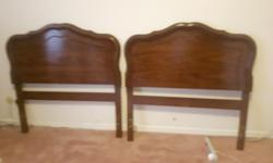 I have 2 single head boards and dresser for sale asking $225 for all 3 pieces