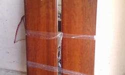 """All wood dresser, classic style, mahogany finish, 63"""" long by 34"""" high by 19"""" deep. Comes with matching removable mirror 48"""" wide x 43"""" high. Combo makes it 77"""" high. By Pennsylvania House. Very good condition"""