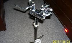 MAPEX double braced,double tom stand,heavy duty,excellent condition....$45.00    MAPEX Pro M drum badges,excellent condition,...4  for ...$10.00   PEARL single braced high hat stand,adjustable tension,clutch inc. ,excellent condition....$25.00     NETWORK