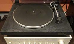 This is an award winning Dual Audiophile Concept turntable of its time. It possesses excellent sound quality, particularly within its low range / bass frequencies. The unit still possesses its original Ortofon cartridge and Stylus. This turntable would