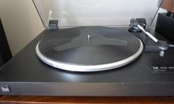 Hi, this is a great looking, fully functional, made in Germany, Dual CS-430 Turntable. The dust cover and hinges are in fantastic shape, it has a heavy solid base, a ground wire, and the cartridge and stylus sound great. Just $90, or will consider serious