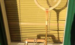 Dunlop Squash Racquet Maxply Fort Steel Shaft Made in England Good condition, with press $20