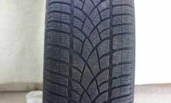 """Top line Dunlop WINTER Sport 3D tires (17 """").   Looking for best REASONABLE (this means real) offer.   Tires are P225 / 55R17 and have only 4 K of late Fall/early Winter use so, they are still in 'like new' shape.  They were $1,100 new, plus tax.   They"""