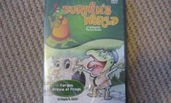 Durwin's World: Fergus, Prince of Frogs (DVD) NEW Cinerio Entertainment animated picture books combine the art of storytelling with moving illustrations, animation and original music. Children can now enjoy both movie and unique read-along versions of