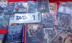 Large selection of DVD's only $1 each or take them all for just $15!