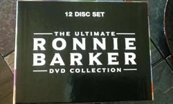 Ronnie Barker, British comedian, 12 disc boxed set. Region 2 discs, all region DVD player/recorder available.