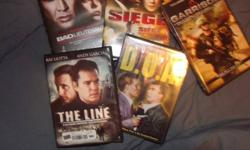 $15.00 for each set of DVD's displayed in each picture.