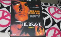 Hi, I am selling an original DVD of The Brave (1997). This is a hard to find Johnny Depp movie, it was never released in North America. This is the Korean version, DVD plays in English. This DVD is All Region so it will play in any Canadian/American DVD