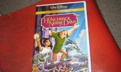 The HunchBack of Notre Dame Brand new DVD - 10 Original Disney DVD Never been used Inside its own box