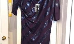 Dynamite long shirt/ dress Blue / sparkly Size small NEW - has tags