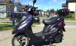 Nine hundred dollars or your best offer will receive the ignition key and the bike comes free; this lil humdinger will get you where you wanna go in a twist of the throttle and is great for galloping with geese too! Comes with a set of new batteries and