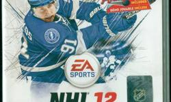 BRAND NEW - Sealed http://ps3.ign.com/objects/107/107576.html EA Sports NHL 12 wants you to Be the Next Great Legend. Play your way to superstardom in the revamped Be a Pro mode and experience legendary moments in your player career as you shatter records
