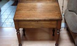 ESTIMATE LATE 1890'S SOLID SINGLE BOARD PINE SOLID CONSTRUCTION OWED FOR MANY YEARS BY A SERIOUS ANTIQUE COLLECTOR