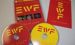 Both DVD and CD of live concert in Japan with Earth Wind and Fire, like brand new