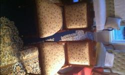 Pair of east lake chairs recently recovered,in excellent condition