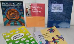 Various Text Books for early child educator. Selling Actual Price    Price/gst                                 Name of Book             Edition             ?Author?   $10      $ 15.40            EMERGENT CURRICULUM