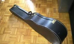 Here is a guitar case for an acoustic guitar, great for someone beginning to learn how to play or that doesn't want to spend a lot of money. Price is firm at $25. Please email.