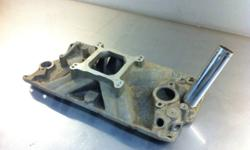 Edelbrock Torker P/N 2725 intake manifold single plane. Last installed on a chevy 327 small block. This ad was posted with the Kijiji Classifieds app.