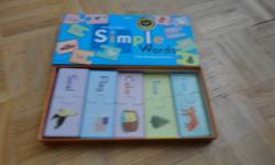 Simple Words Puzzle $5   LeapFrog - ClickStart - My First Computer Instruction Manual available $15