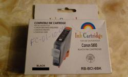 New Year's cleaning - I have eight printer cartridges (one black, one cyan, one photo magenta, two yellow, three magenta) for a Canon printer that I no longer own - compatible with: Canon S800 S820 S820D S830 S830D S900 S9000 i950 i960 i900D i9100 Pixma