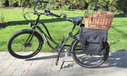 I am selling my Pedago Interceptor 2, step through, electric bike with 48V, 10AH Lithium Battery. I purchased this bike about 17 months ago when my eyes failed to comply with the visual acuity standards required for a BC drivers license. I have only put