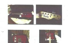 Fender Telecaster Deluxe series Red 6 string . 600.00 O.B.O.