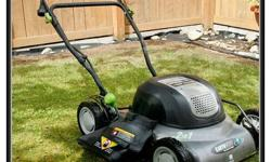 """Good condition. Electric Earth Wise 12 amp 18"""""""