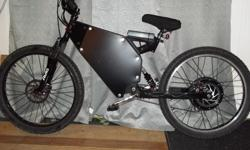 """Mountain EBike (normal double suspension) (very fast and powerful, can climb hills very easily without pedaling) check out youtube video to see how fast the motor goes: """"""""""""""""----CHECK OUT VIDEO----"""""""""""""""" https://www.youtube.com/watch?v=56NBnv_ODuI Mountain"""