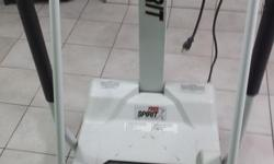 10 hp free spirit treadmill with pulse monitor 150 or trade for a welder.