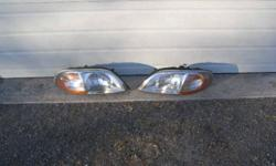 Headlight assembly $15.00 each or $25.00 for the pair Passenger side switches for windows and locks $7.00 alternator will fit 3.8 litre engine works well $25.00 head light switch $5.00 electric door lock asemblies for sliding door $15.00 each or $25.00