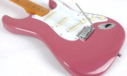 LOOKING FOR USED PINK ELETRICK GUITAR...