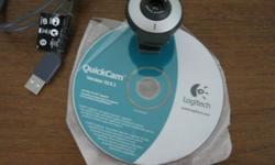 Elliot Lake:  Logitech QuickCam version 10.5.1 clip on. Reason to sell-I now have Laptop with built in webcam.