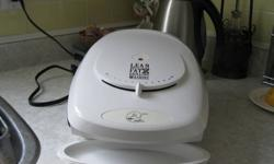 Elliot Lake: Lean Mean Fat Grilling Machine used maybe 3 times but I am very short on counter space. $40. new at Sears plus tax, only thing missing is the box it came in! and I am asking just $10.