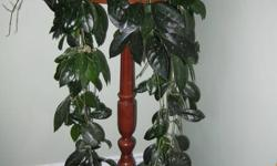 """Elliot Lake: 36"""" Pedestal if you would like the plant as well you can have that for another $10.00"""