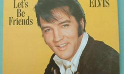 Elvis Presley 3 vinyl LP lot: Let's Be Friends: PickWick Camden #CAS-2408; Vinyl NM- (odd light scratch) Cover: Some general wear Frankie & Johnnie: PickWick Camden #ACL-7007; Vinyl Near mint minus (odd light scratch) Cover: Some general wear. You'll