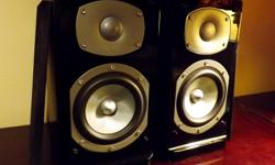 A very minty pair of bookshelf/stand mount speakers. Received very little use in a secondary system... Very MiNTY... Looks new... Sounds new.... This one will make someone very happy... Great detail and a neutral tone. Good bass... Performs equally well