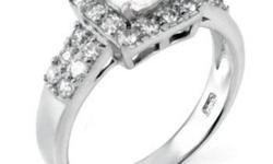 Gorgeous Engagement/Anniversary rings, all the rings are solid 925 Sterling Silver, (Stamped 925), with non-tarnishing Rhodium or Platinum (White Gold) finish. The stones are top-grade cubic zirconia, they are cut the same way as mined Diamonds, they are