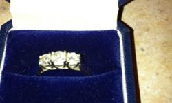 14k white gold engagement ring! Selling for $1200 obo Email for more info This ad was posted with the Kijiji Classifieds app.