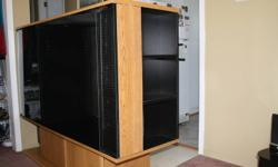 """Entertainment Unit to fit a 32"""" T.V. 60.00 32"""" T.V. $60.00 or $100.00 for both."""