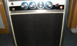 Dual inputs antique style with glass tubes Manufactured in early 1960s very RARE