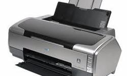 Excellent condition Epson r2400 printer for sale. Comes with box, cables and software. Not used enough. An excellent 13x19 printer as it is or a good candidate for switching over to a piezo printer (which was my plan).