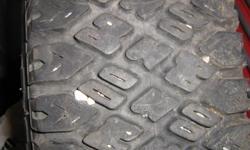 Euzkadi BF Goodrinch. 185-SR14. GT 700. Aggressive tread. 2 tires both tires on rims.