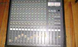 Nice vintage EV BK 1242 mixer, 12 channels, VU meter bridge, quality channel strips, wonderful sound in a great case. Pro gear at a bargain price. Can be seen at 127 Upper Prince St., Charlottetown, Call William at 892-9504 after 6PM.