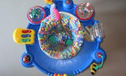 Used Evenflo Exersaucer Smoke and Pet Free Home Great Condition. Seat just needs to be washed. $10 obo