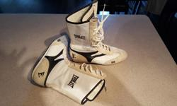 Everlast training shoes for sale. Worn for only a handful of training sessions. US womens size 5 (Fit like CDN womens size 7). Asking price: $55.00 Serious buyers only please.