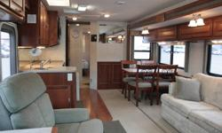 Fleetwood Southwind 36T Excellent condition, High End, Gas Coach, Driver Door, Satelite Dish, Large Four Door Refrigerator, Convection Microwave, True Queen Rear Bed, Sofa Bed, Table & 4 Kitchen Chairs, Encassed Awning & Center Support, Newer Slideout